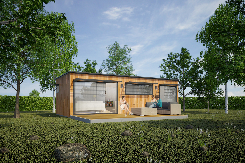 Studio de jardin bois home garden concr tisez votre projet md concept - Une maison un jardin berthenay versailles ...