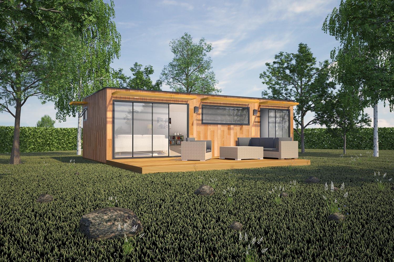 Studio de jardin en bois haut de gamme concr tisez votre for Jardin veritable