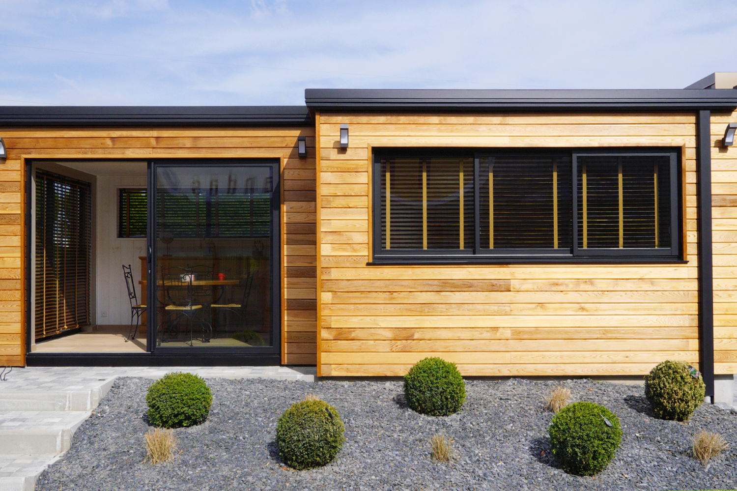 Extension bois maison prix extension en bois with for Extension prix