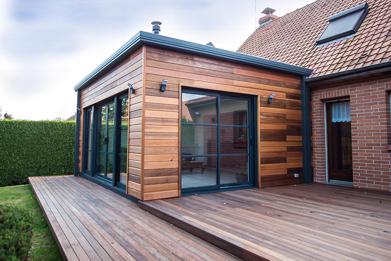 Peut On Mettre Un Poele A Granule Dans Une Veranda extension en bois : concrétisez votre projet d'extension d