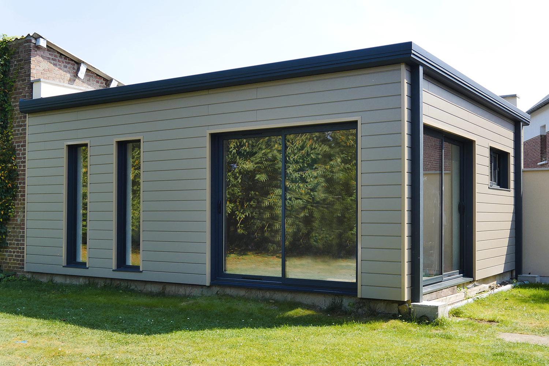 extension bois de maison et studio de jardin md concept. Black Bedroom Furniture Sets. Home Design Ideas