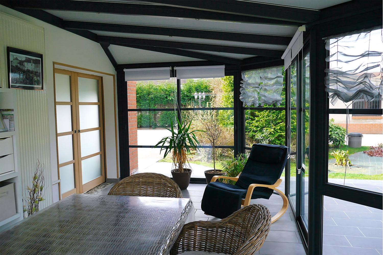 Peut On Mettre Un Poele A Granule Dans Une Veranda véranda salon - le salon dans la véranda : concrétisez votre